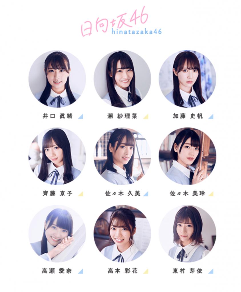 日向坂46 1期生メンバー画像