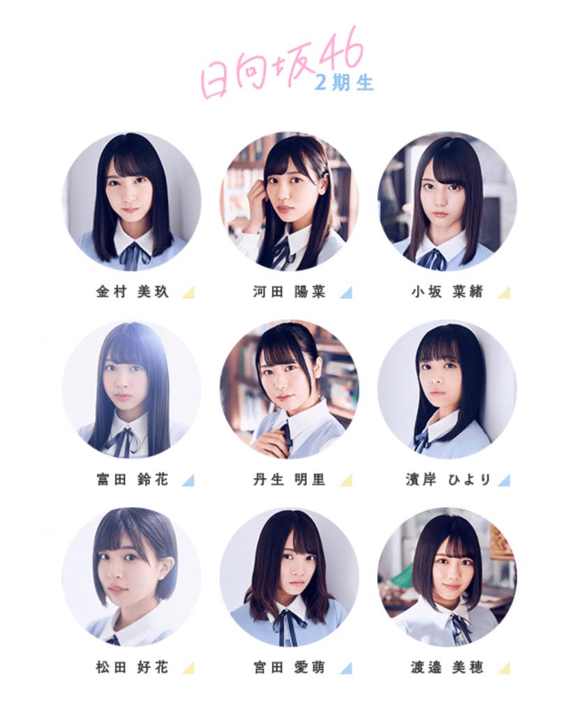 日向坂46 2期生メンバー画像